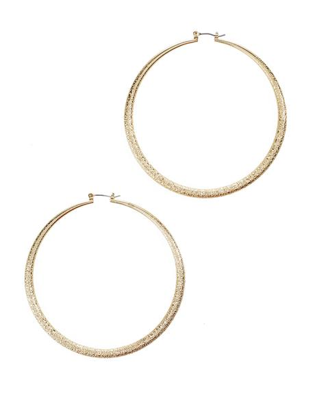 Honey Hoop Earrings