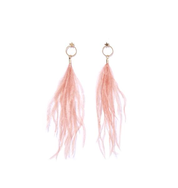 Light As A Feather Dangly Earrings