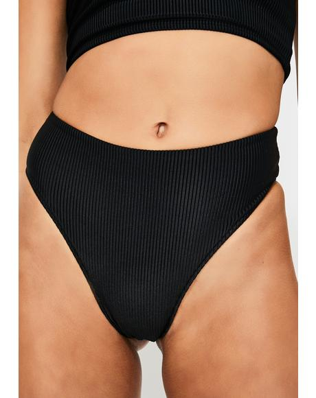 Midnight Jenna Bikini Bottoms