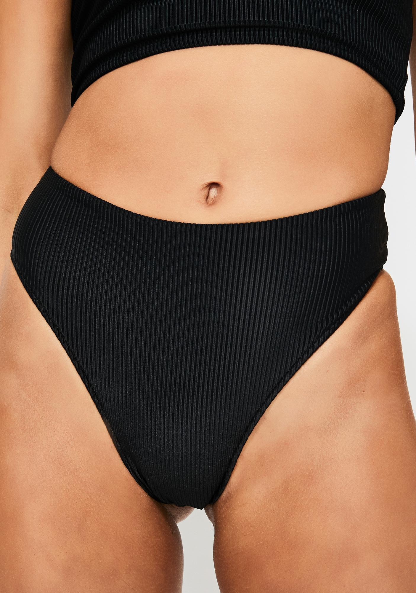 Frankies Bikinis Midnight Jenna Bikini Bottoms