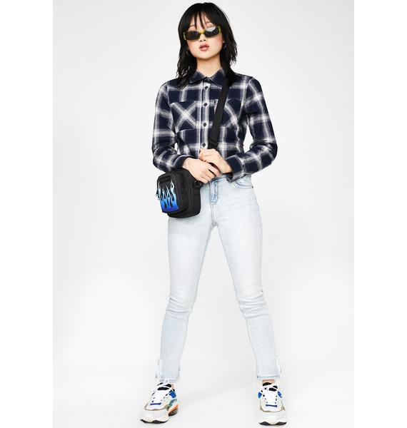 Hidden Denim Super Light Wash Skinny Jeans