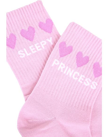 Sleepy Princess Socks