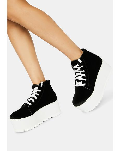 Night Barletta Platform Sneaker