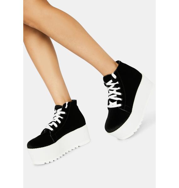 Lemon Drop by Privileged Night Barletta Platform Sneaker