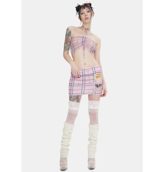 W.I.A Sacrum Mini Skirt