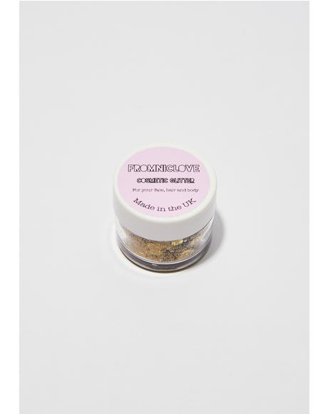 Golden Beauty Cosmetic Face Glitter