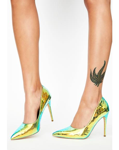 Vibrant Live A Little Stiletto Heels