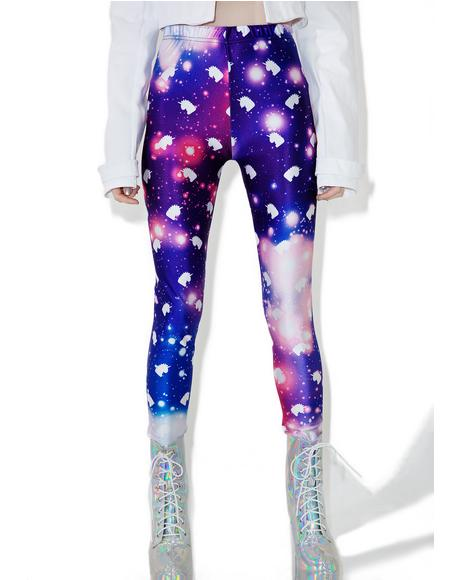 Uni Galaxy Leggings