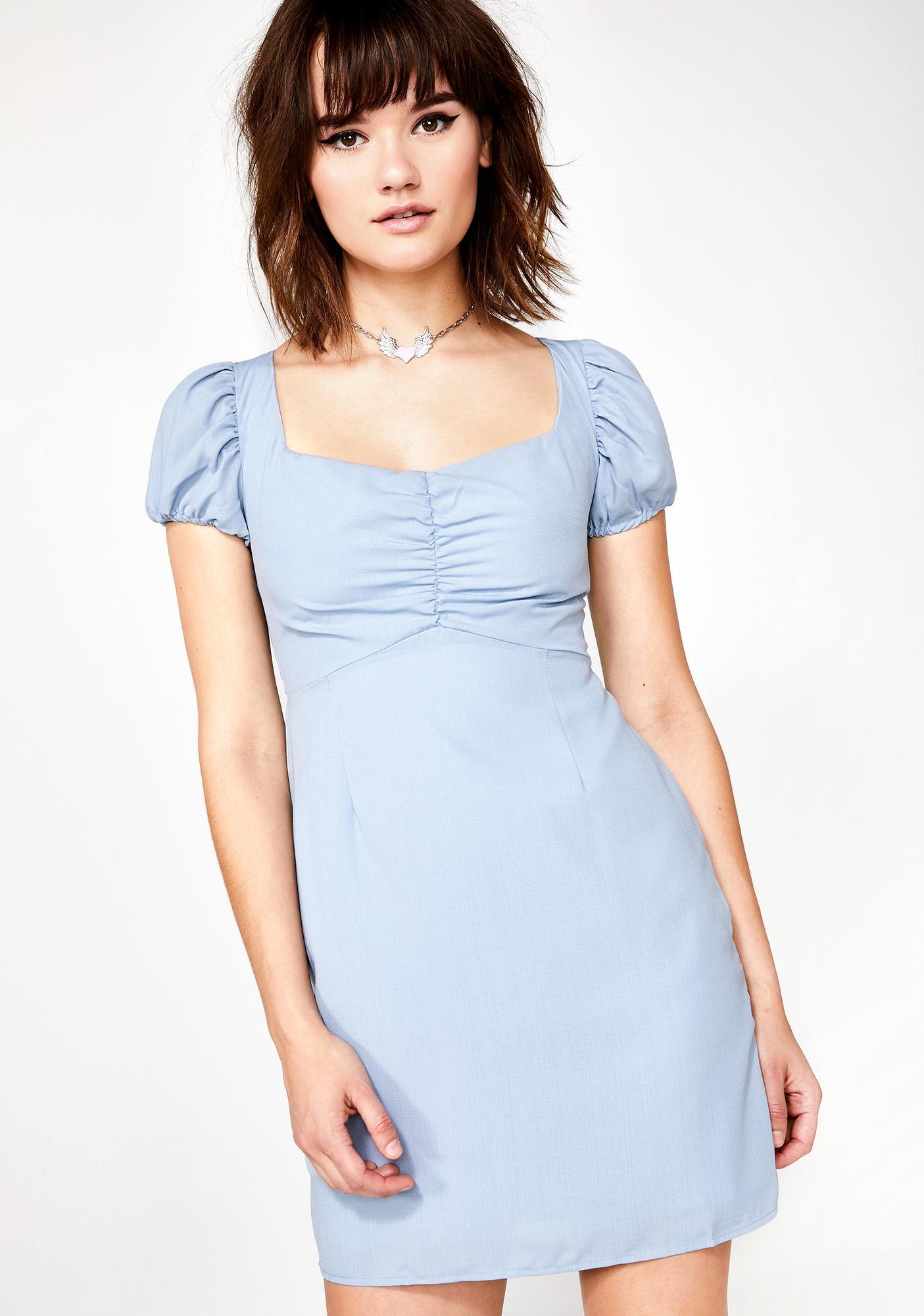Glamorous Berry Moonshine Mini Dress