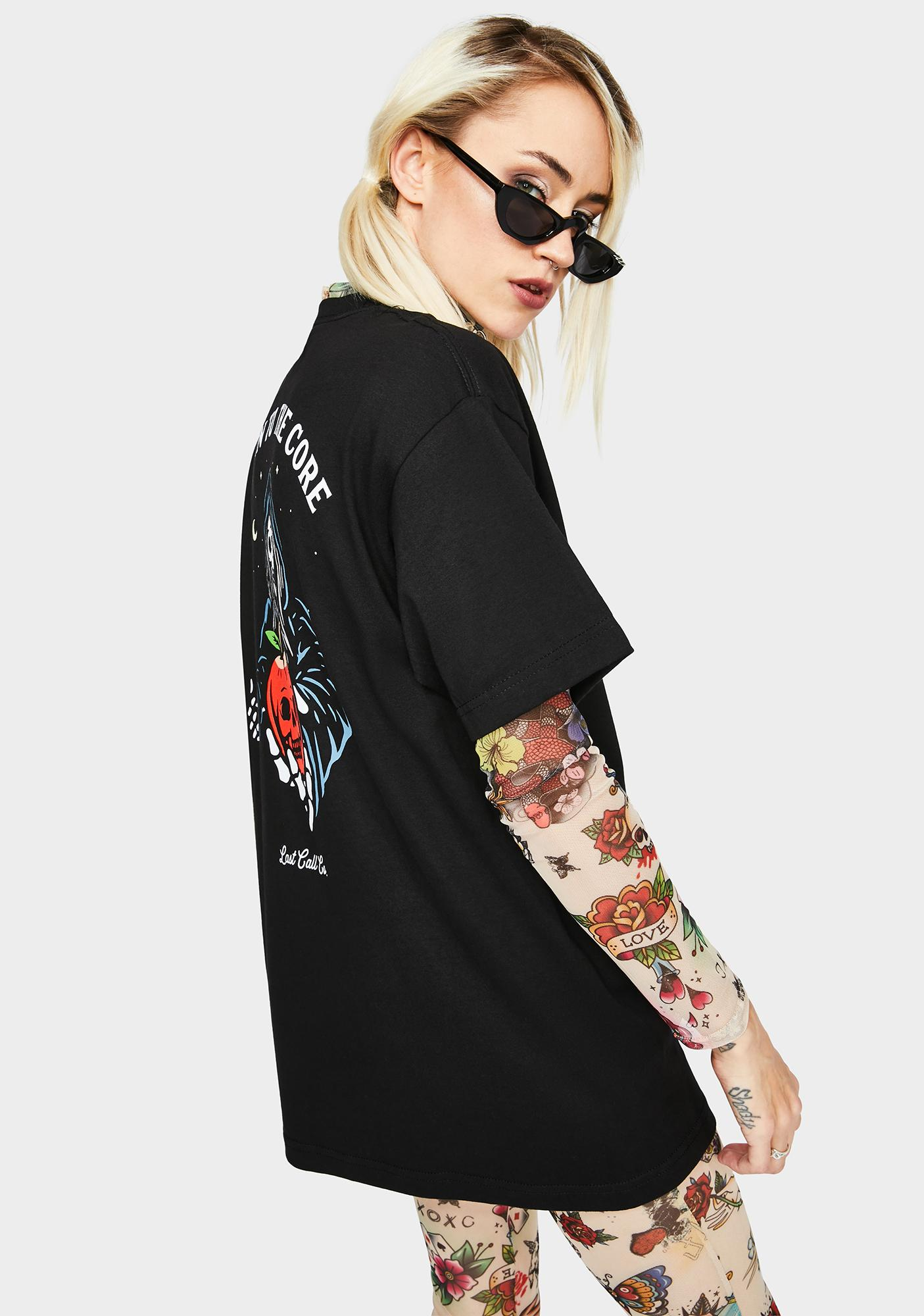 Last Call Co. Rotten Graphic Tee