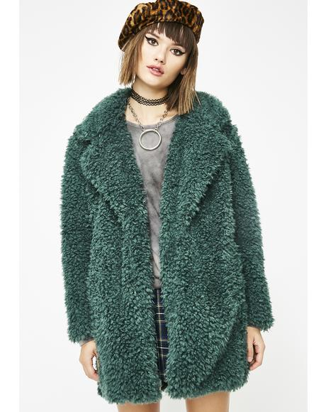 Forest Wanderer Fuzzy Coat
