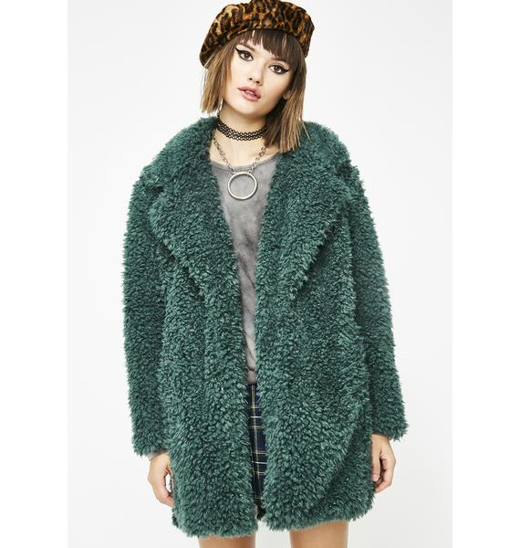 Forest Wanderer Fuzzy Coat