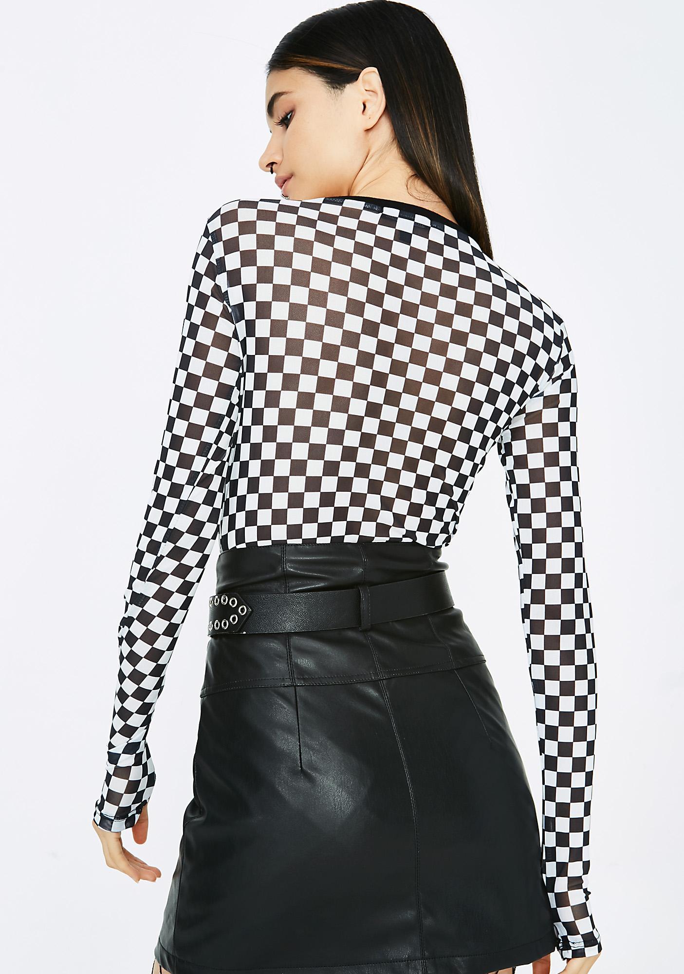 Forever Cruisin' Mini Skirt