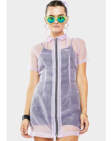 Hybrid Organza Dress