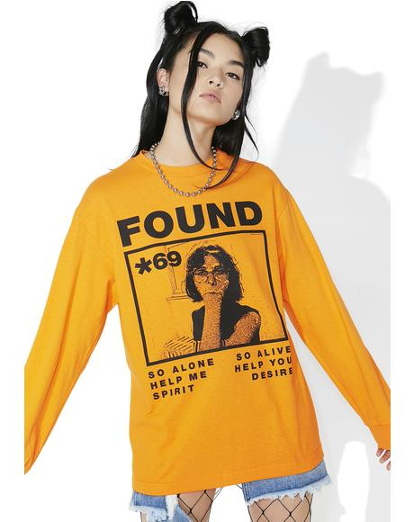 Found Long Sleeve Tee