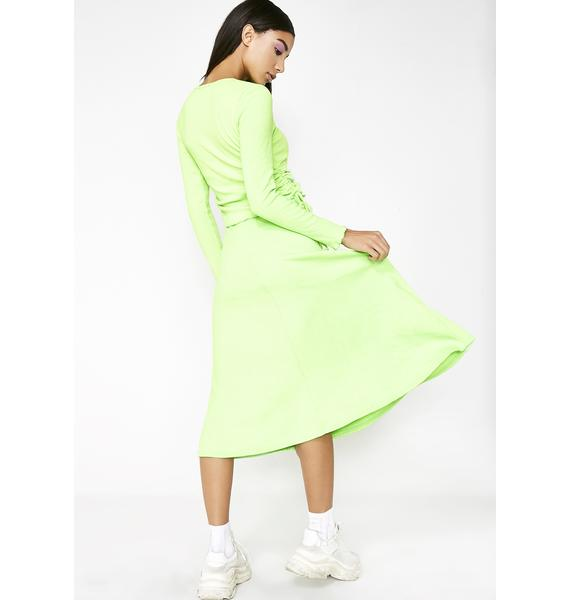 As I Am Absinthe Skirt
