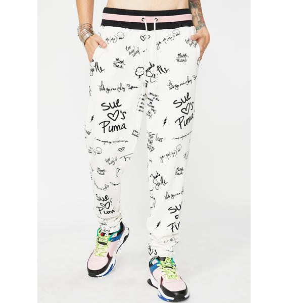 PUMA X Sue Tsai AOP Sweatpants