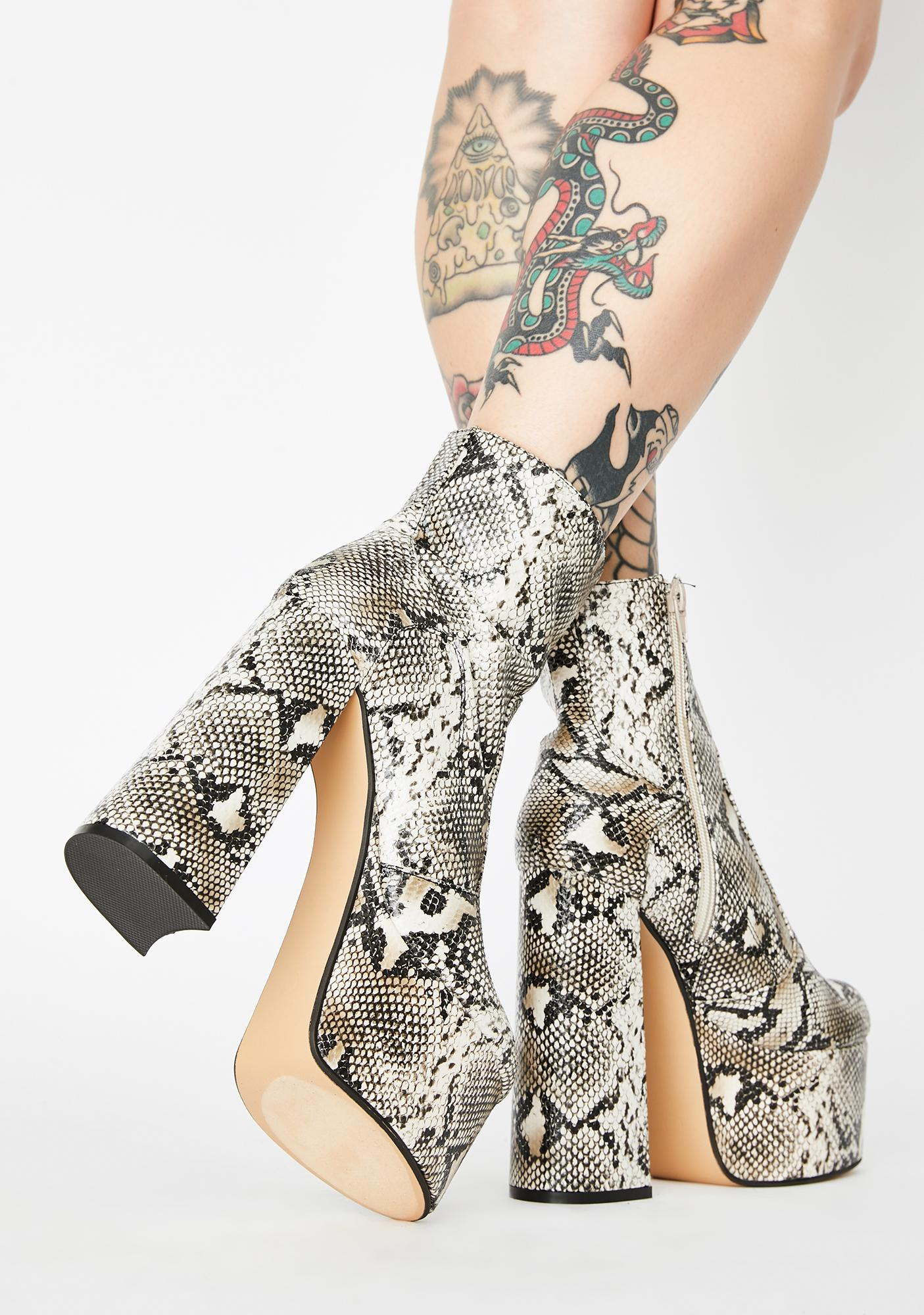 Toxic Steal The Spotlight Platform Boots