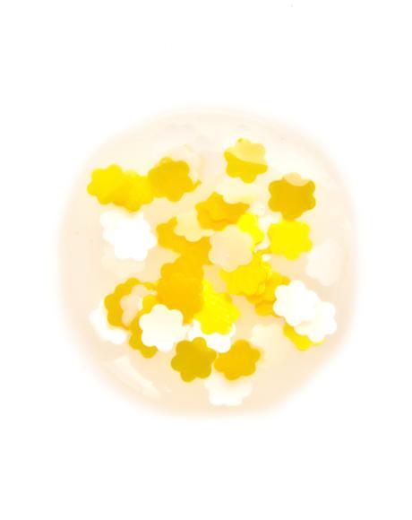 Hard Flower Glitter Nail Polish