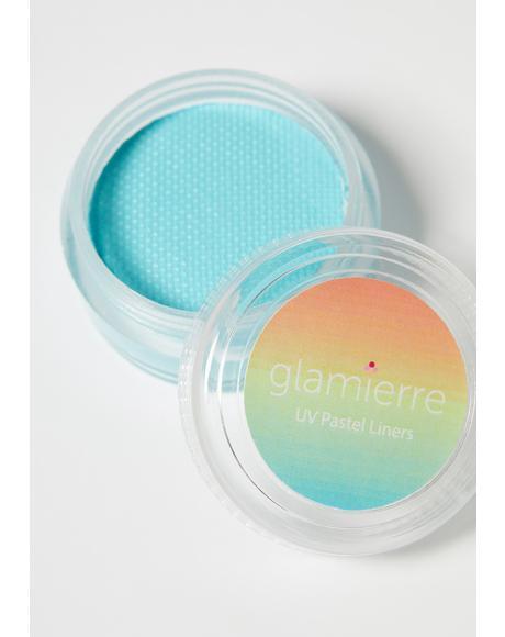 Azure Neon UV Pastel Liner