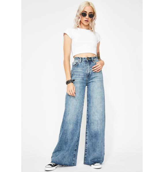 Zee Gee Why Hi Sweep Wide Leg Jeans