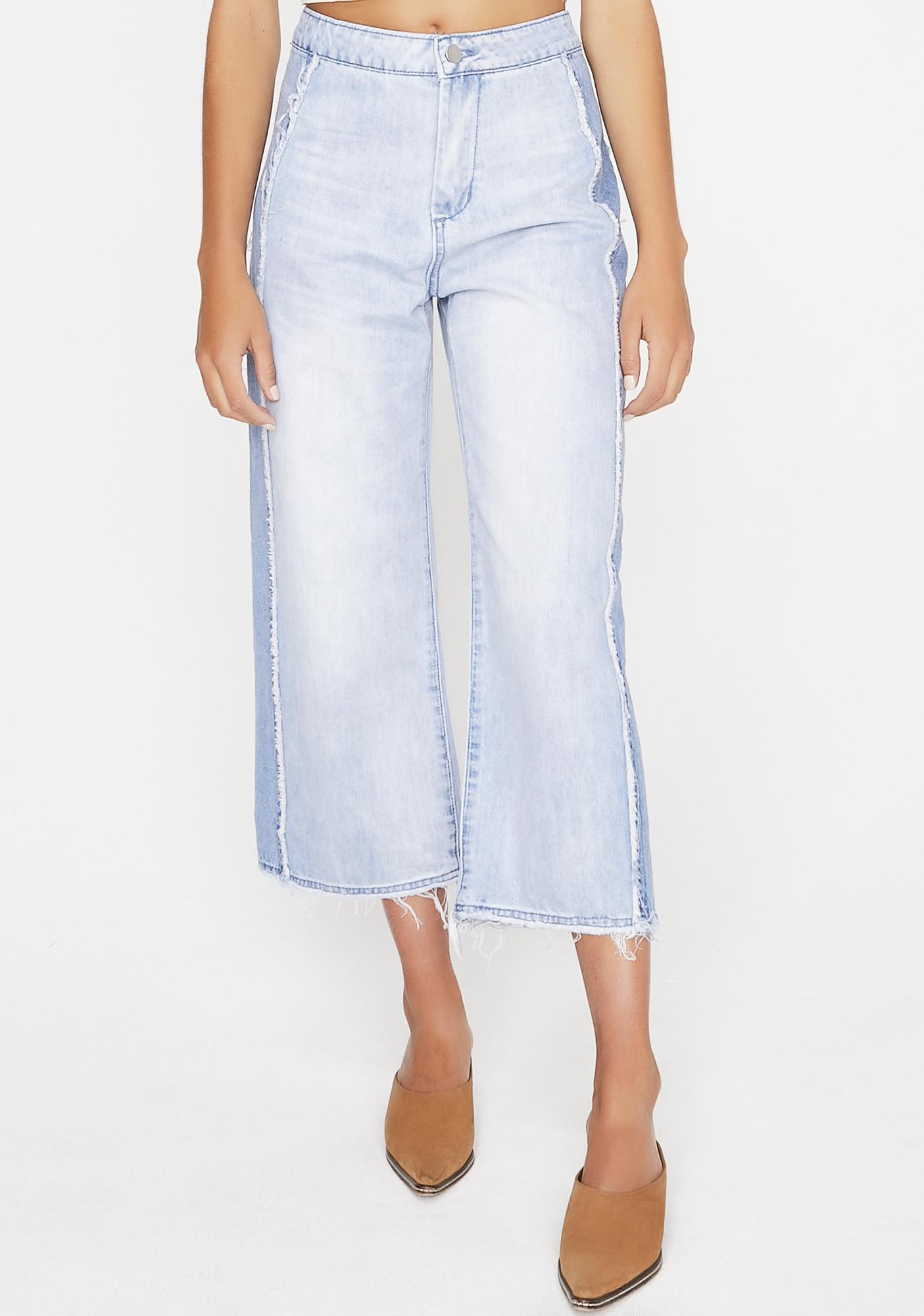 Crowd Control Wide Legs Jeans