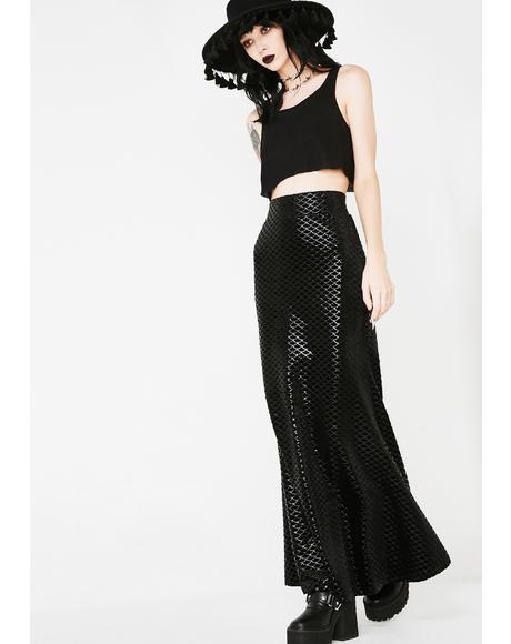 Black Sea Maxi Skirt