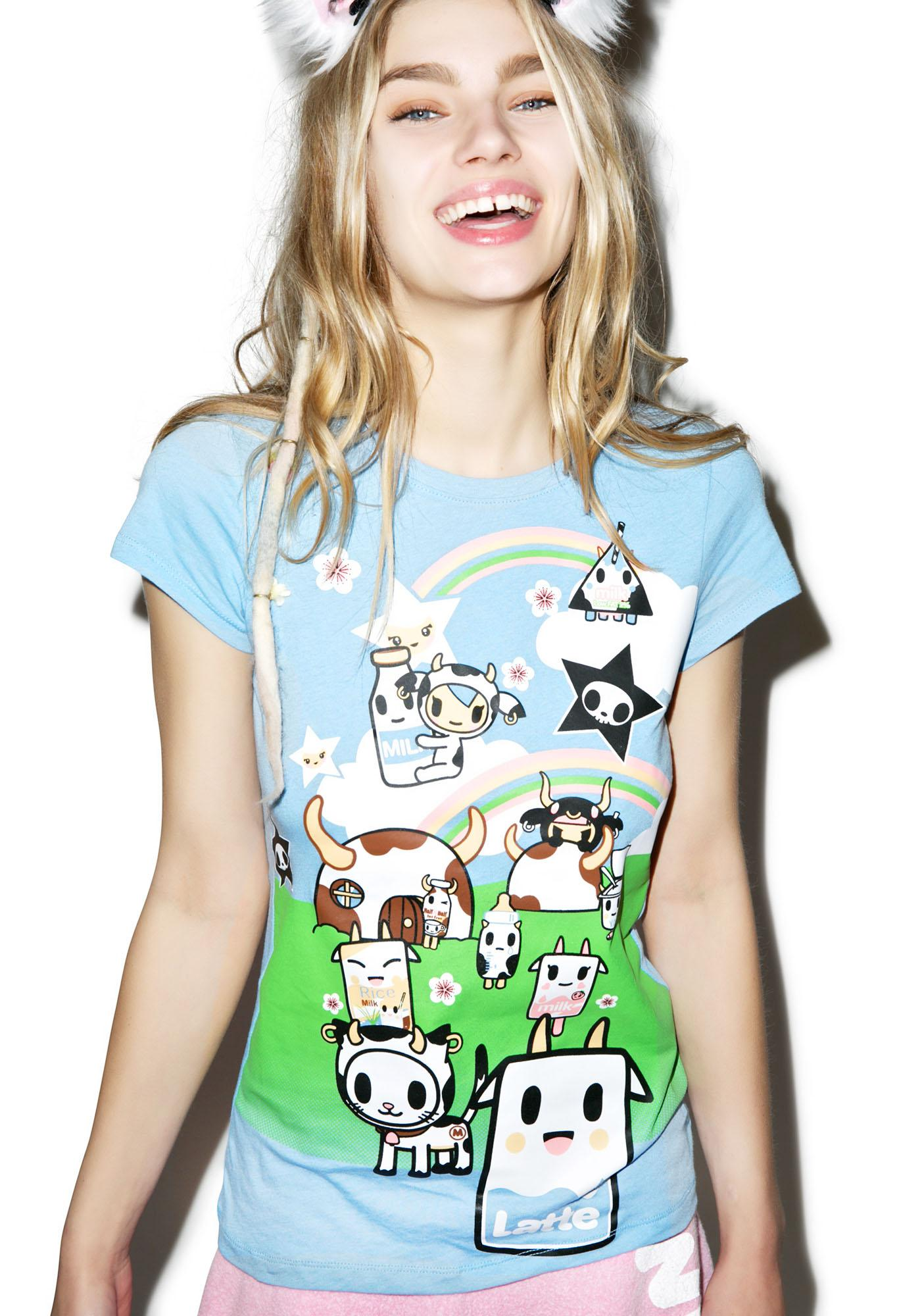 Tokidoki See You Latte Tee