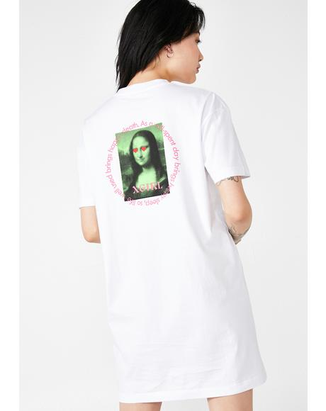 Mona Lisa Tee Dress