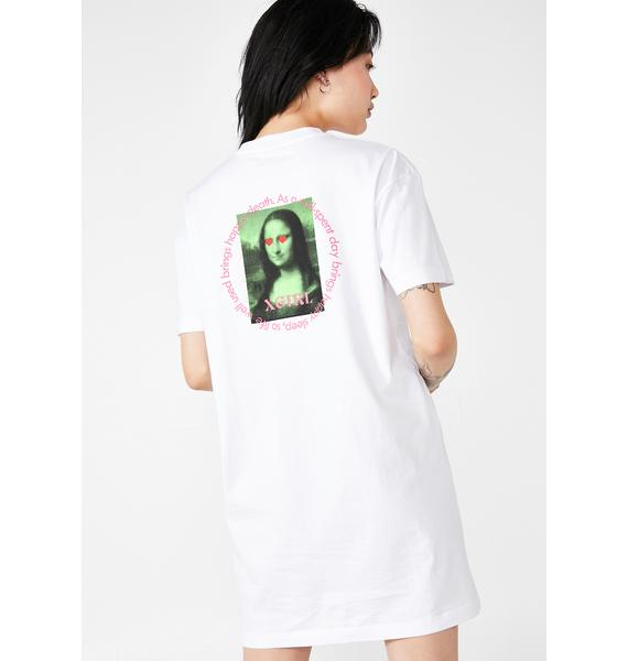 x-Girl Mona Lisa Tee Dress