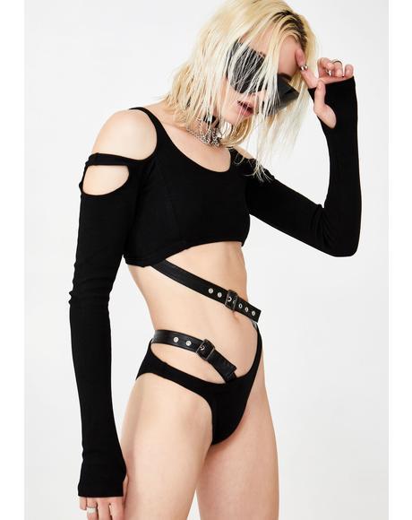 Ragin' Renegade Cut Out Bodysuit