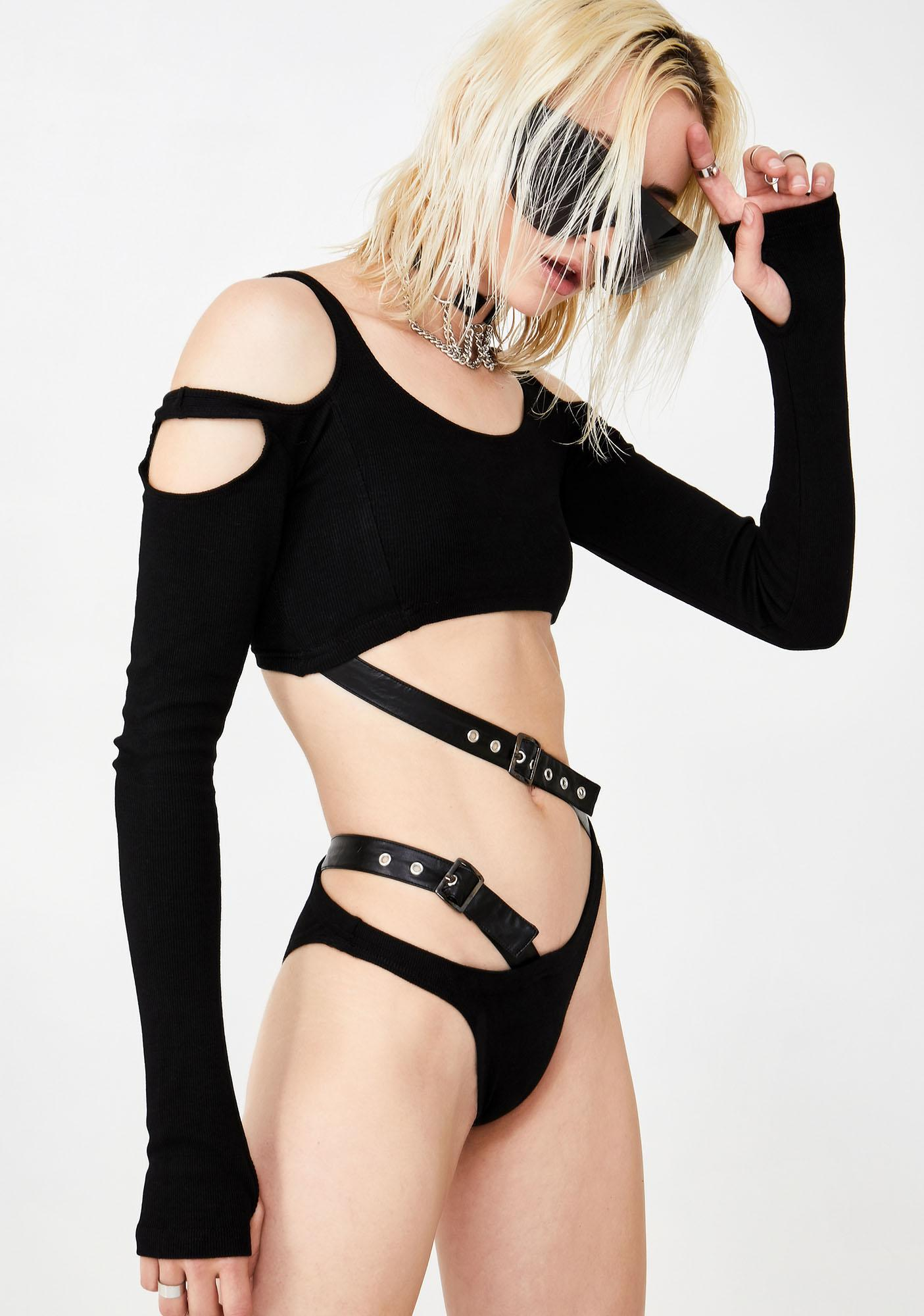 Club Exx Ragin' Renegade Cut Out Bodysuit