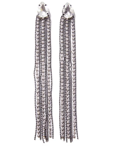 Swish Swish Fringe Earrings
