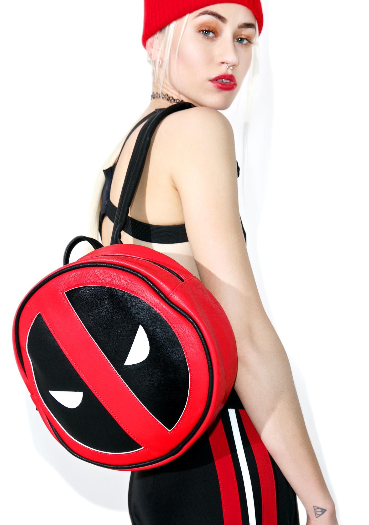 Loungefly Marvel Deadpool Mini Backpack