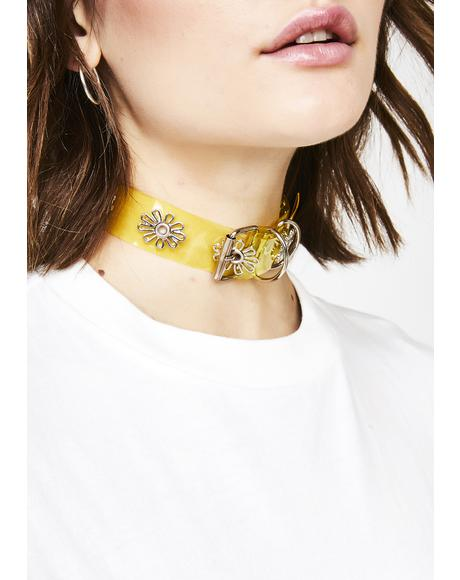 Sunshine Daze Flower Choker