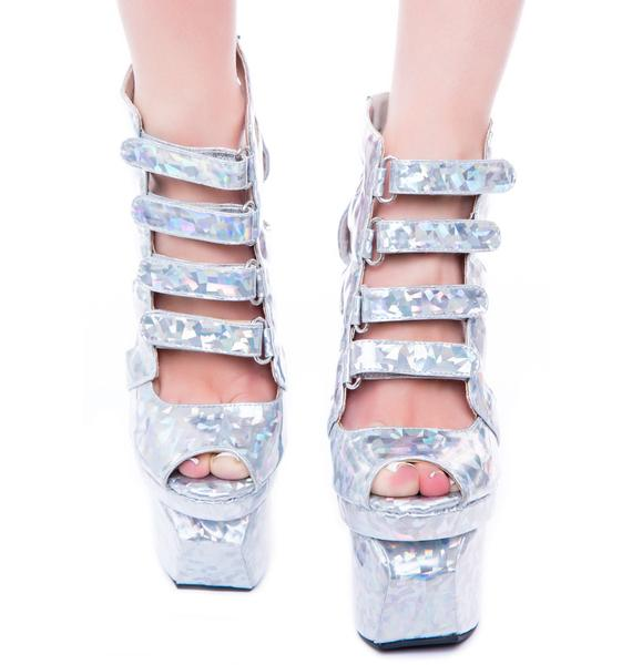 Privileged Jacker Cut Out Wedge