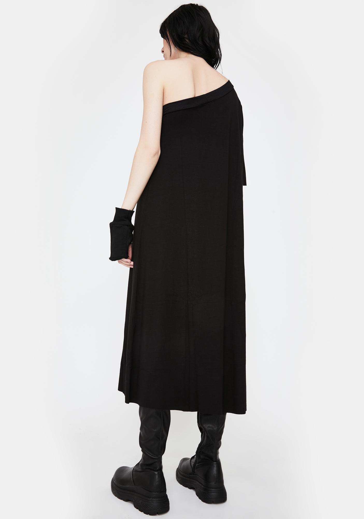 NOCTEX Peak Shoulder Tunic Dress
