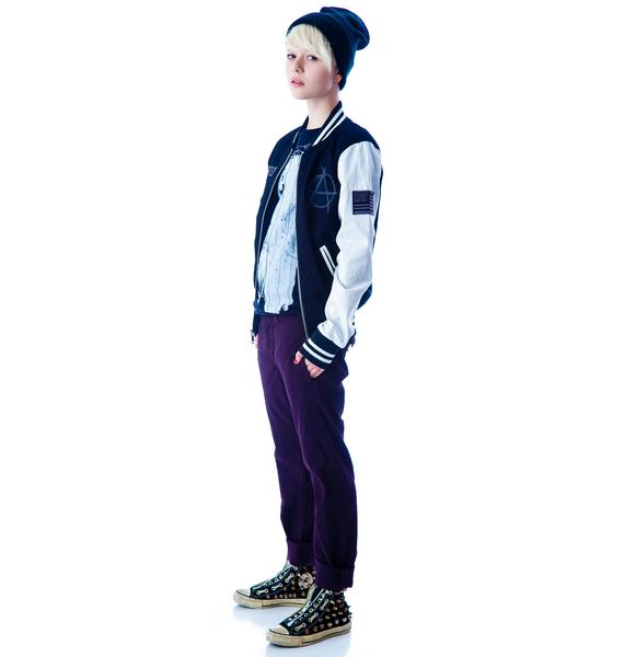 Kill City Varsity Racer Unisex Jacket