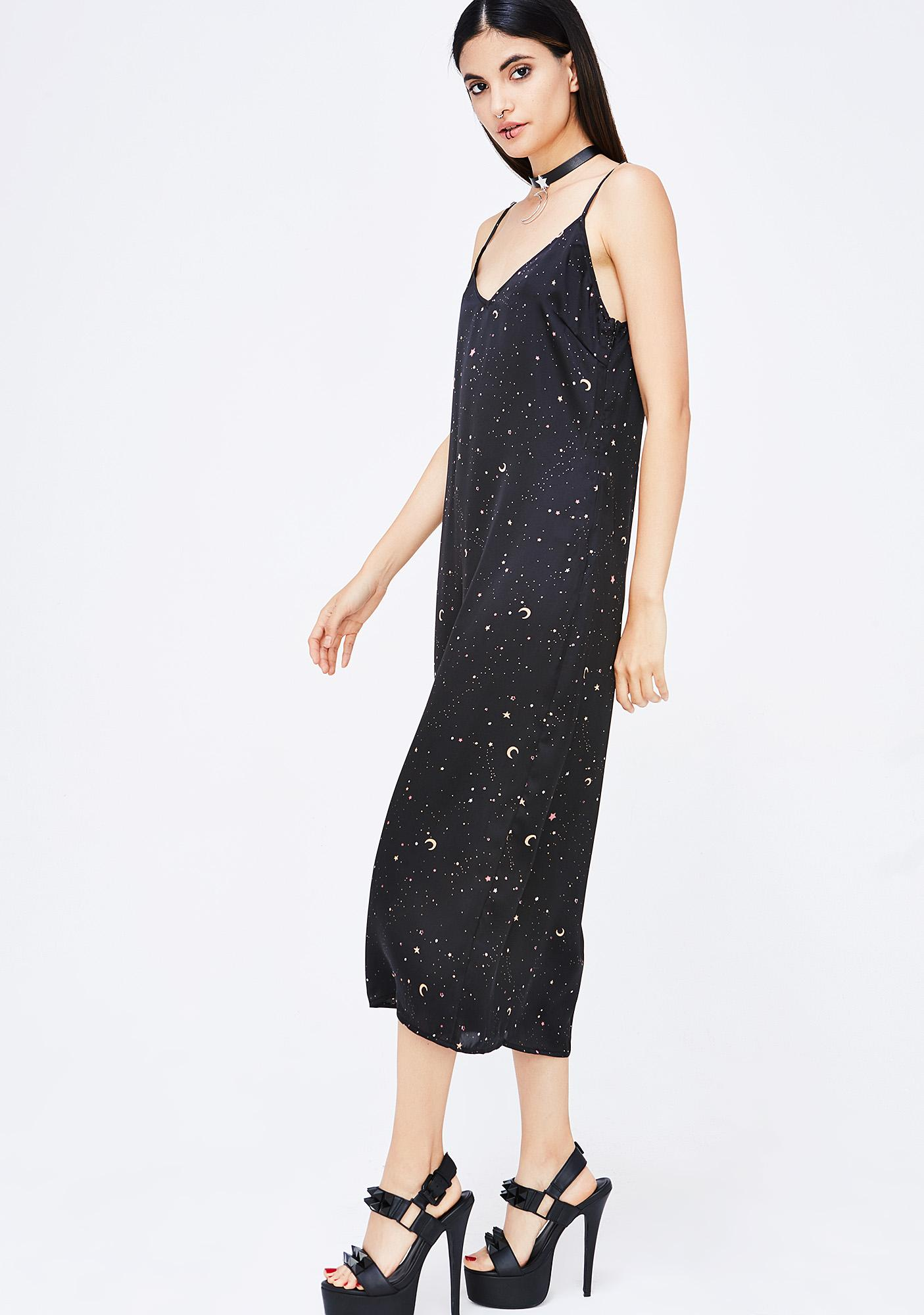 Starry Lights Slip Dress
