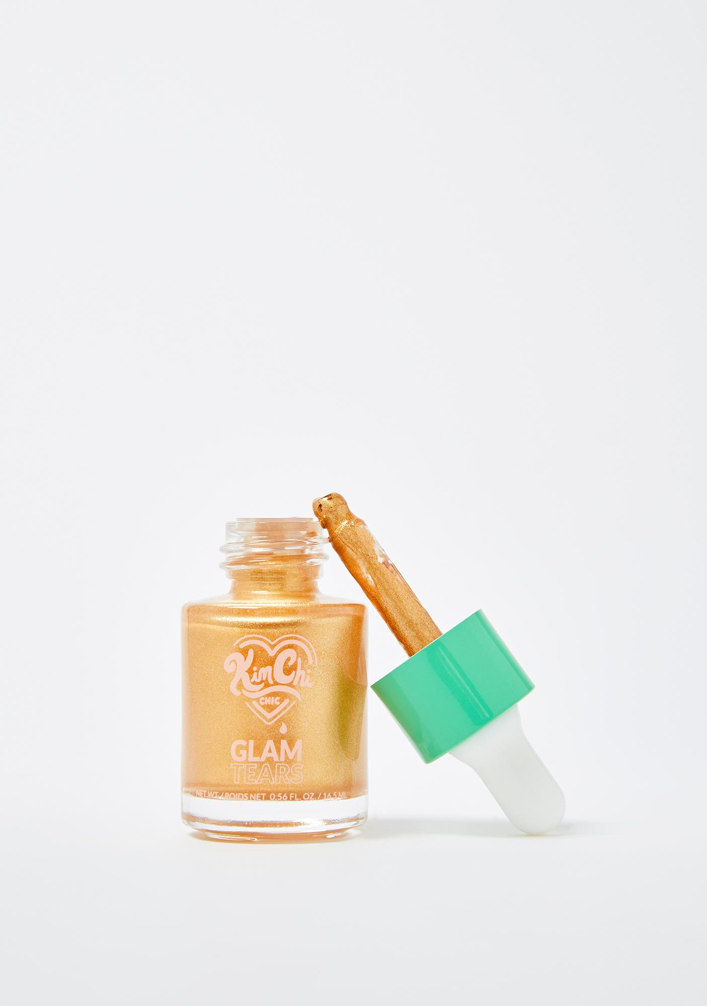 KimChi Chic Beauty Gold Glam Tears Liquid Highlighter