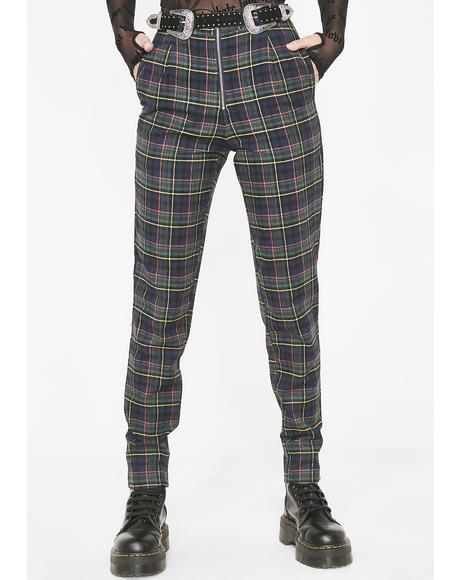 Kush Payback Plaid Trousers
