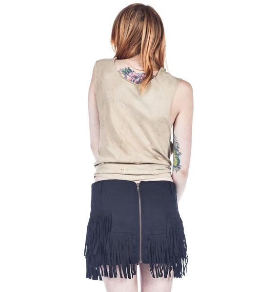 One Teaspoon New Day Tassel Skirt