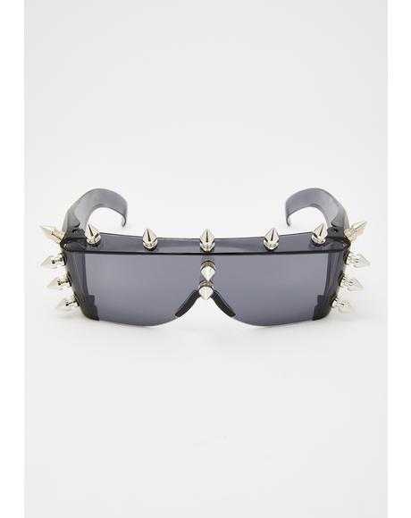 Smoke Fury Spike Sunglasses