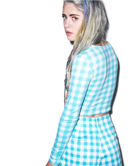 Mary Long Sleeve Crop