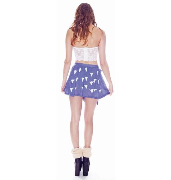 Wildfox Couture Cowgirl Ballerina Skirt