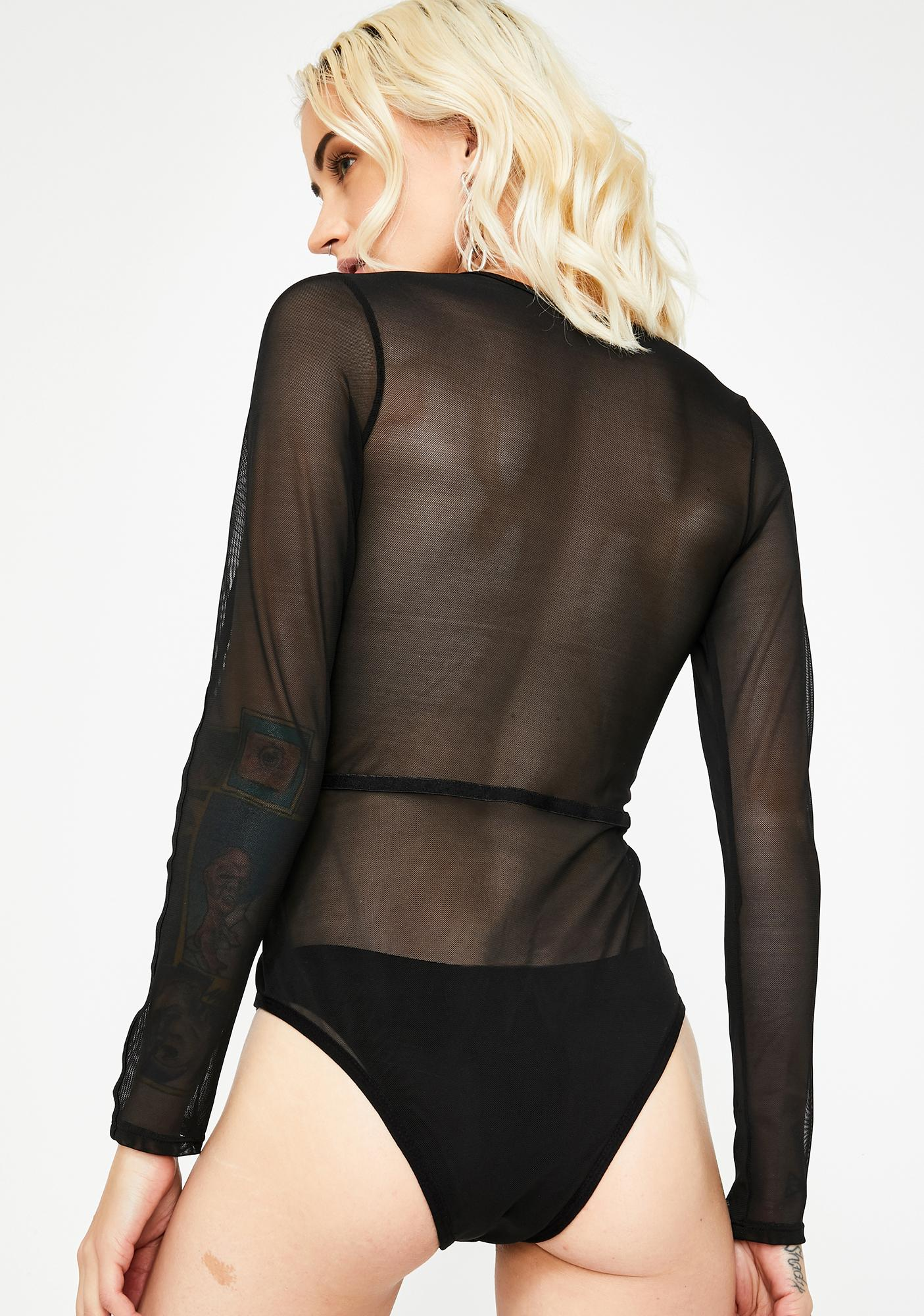 Let's Hook Up Sheer Bodysuit
