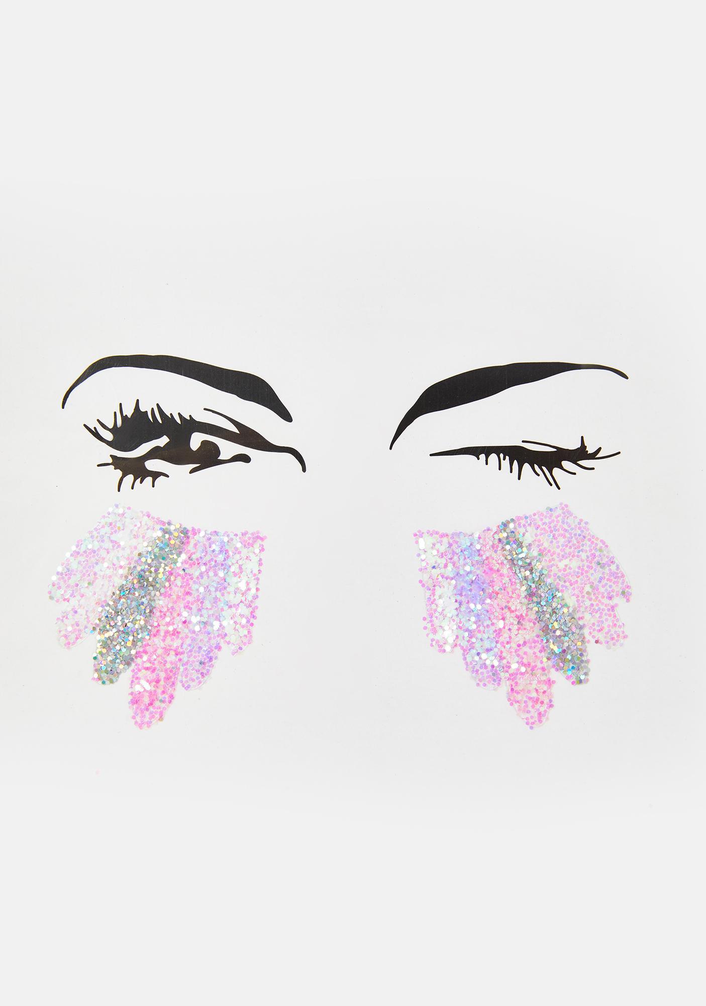 SHRINE Unicorn Tears Glitter Sticker