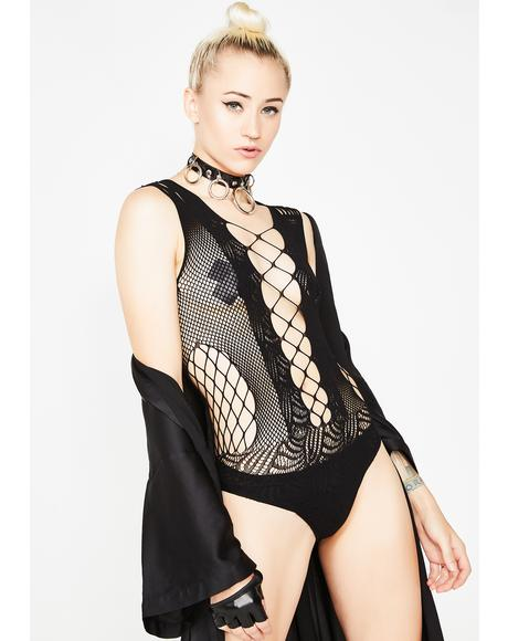Passion Fishnet Bodysuit