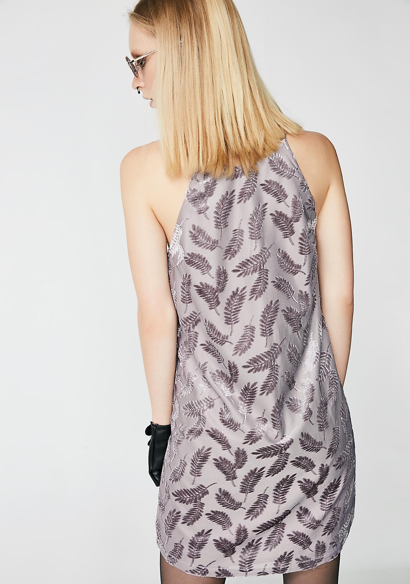 Floatin' Thru Lace-Up Dress