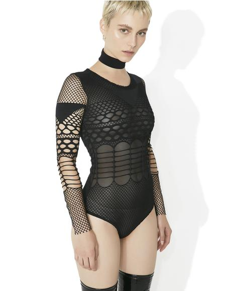 Mixed Emotions Mesh Bodysuit